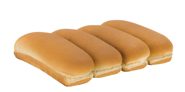 Hot Dog Buns Made with Whole Grain