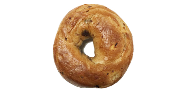 3oz Cinnamon Raisin Bagel - Sliced