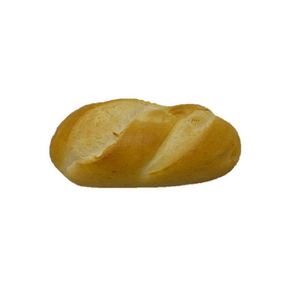 "7"" White Sandwich Roll"
