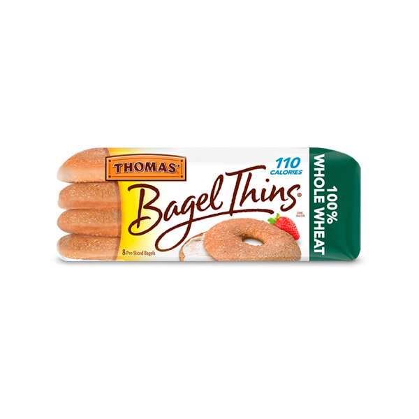 Thomas' Whole Wheat Bagel Thins