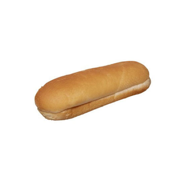 White Hot Dog Roll