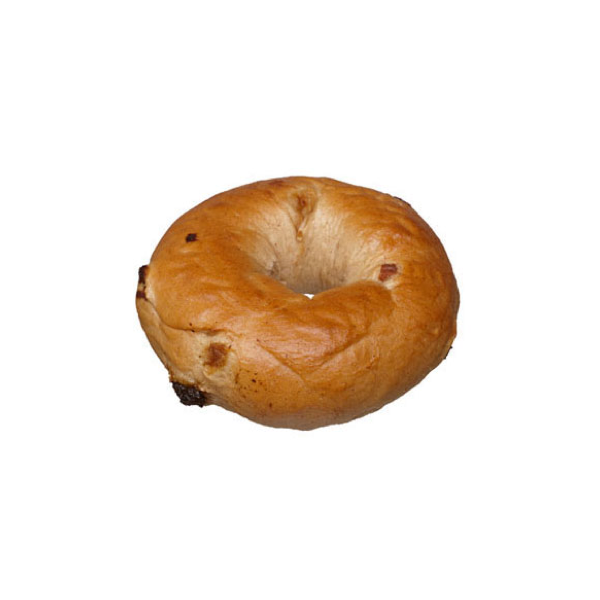 4oz Cinnamon Raisin Bagel - Unsliced